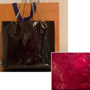 Louis Vuitton Houston Tote Coming Soon In Burgundy
